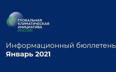 Информационный бюллетень • Январь 2021